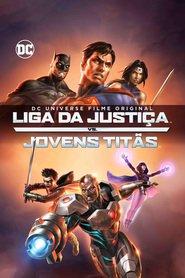 A Liga da Justiça vs. Jovens Titãs